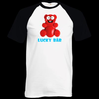 Motiv: TShirt Baseball - Lucky Bär