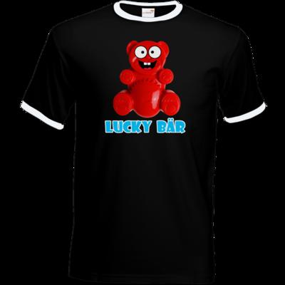 Motiv: T-Shirt Ringer - Lucky Bär