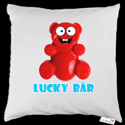Motiv: Kissen - Lucky Bär