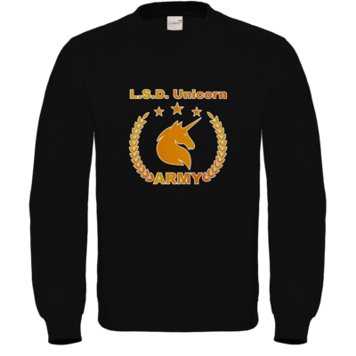 Motiv: Sweatshirt FAIR WEAR - L.S.D. Unicorn Army