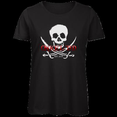 Motiv: Organic Lady T-Shirt - Pirat