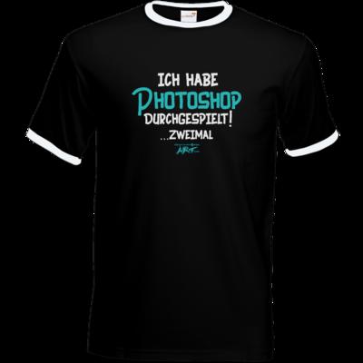 Motiv: T-Shirt Ringer - Ich habe Photoshop durchgespielt