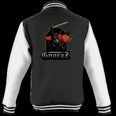 Motiv: College Jacke - Gnoraz Logo simpel