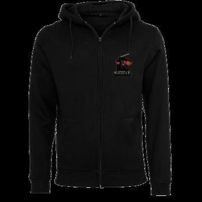 Motiv: Heavy Zip-Hoodie - Gnoraz Logo simpel