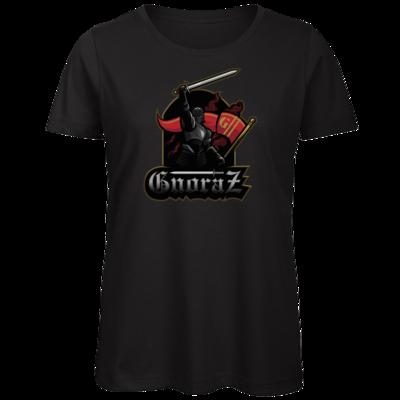 Motiv: Organic Lady T-Shirt - Gnoraz Logo simpel