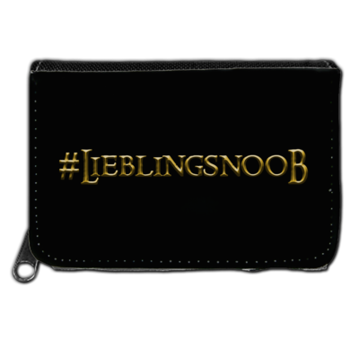 Motiv: Geldboerse - Lieblingsnoob
