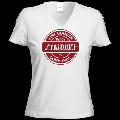 Motiv: T-Shirt Damen V-Neck Classic - ClassicBoom