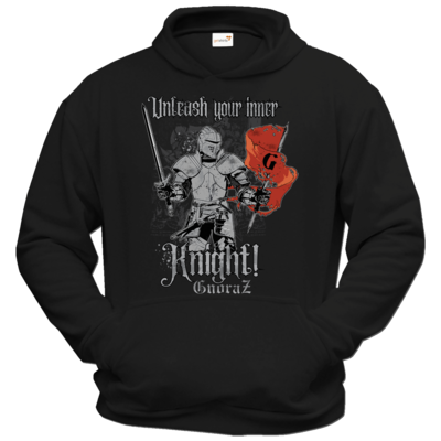Motiv: Hoodie Classic - Unleash your inner Knight!