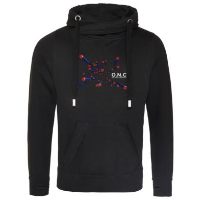 Motiv: Cross Neck Hoodie - O.N.C flying Darts