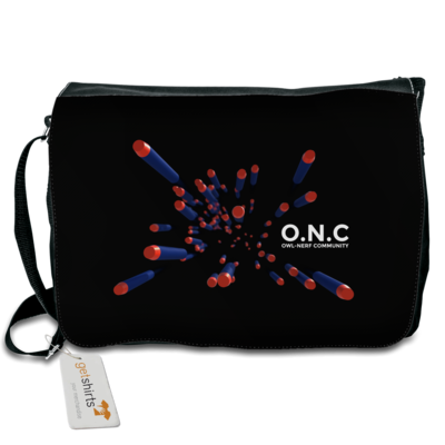 Motiv: Schultertasche - O.N.C flying Darts