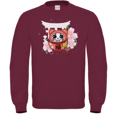 Motiv: Sweatshirt FAIR WEAR - Neko Daruma