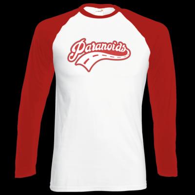 Motiv: Longsleeve Baseball T - Paranoids Red