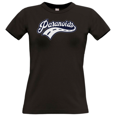 Motiv: T-Shirt Damen Premium FAIR WEAR - Paranoids Navy