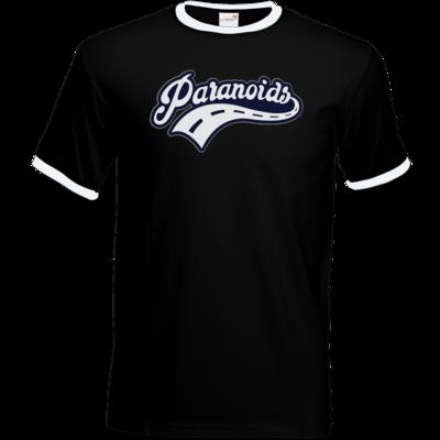 Motiv: T-Shirt Ringer - Paranoids Navy