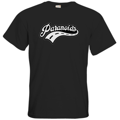 Motiv: T-Shirt Premium FAIR WEAR - Paranoids Black