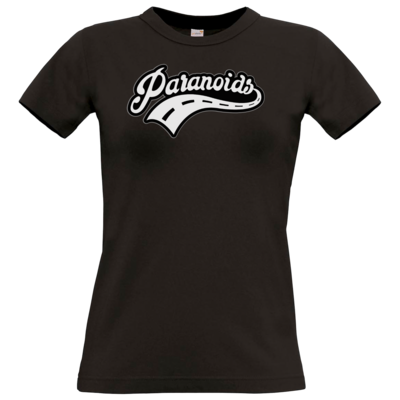 Motiv: T-Shirt Damen Premium FAIR WEAR - Paranoids Black