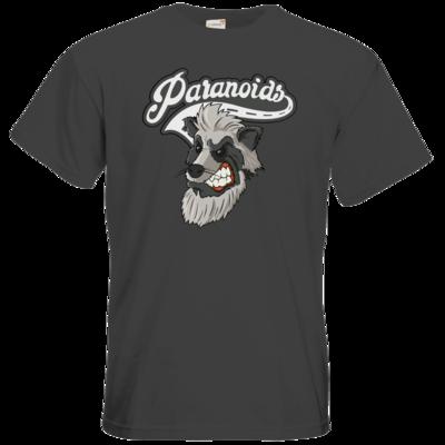Motiv: T-Shirt Premium FAIR WEAR - Paranoids Logo