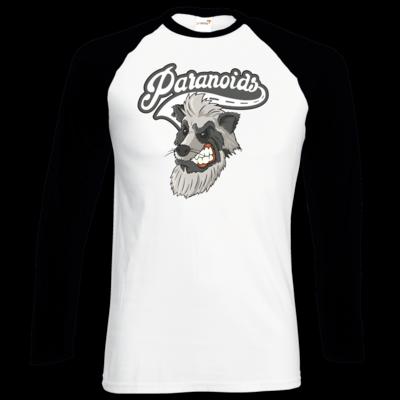 Motiv: Longsleeve Baseball T - Paranoids Logo