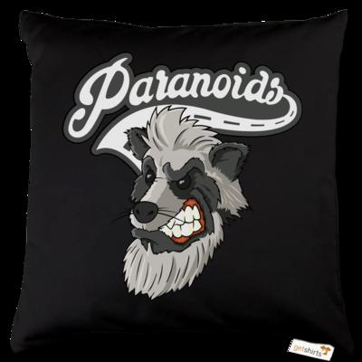 Motiv: Kissen Baumwolle - Paranoids Logo