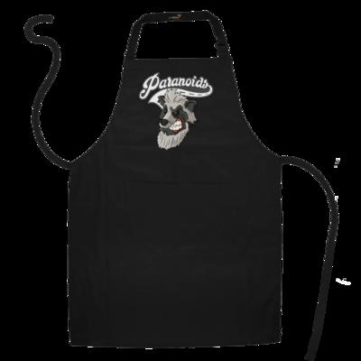 Motiv: Schürze - Paranoids Logo