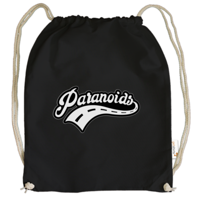 Motiv: Cotton Gymsac - Paranoids Black