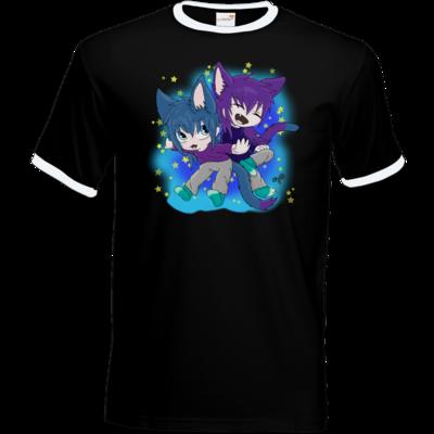 Motiv: T-Shirt Ringer - Katzenbrüder