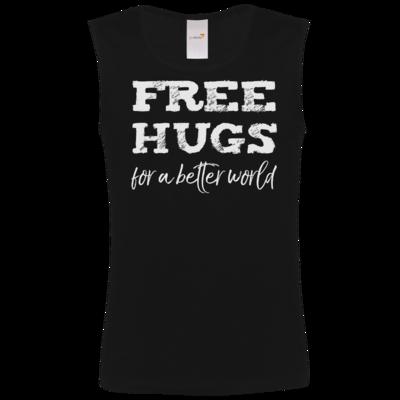 Motiv: Athletic Vest FAIR WEAR - Free Hugs #01
