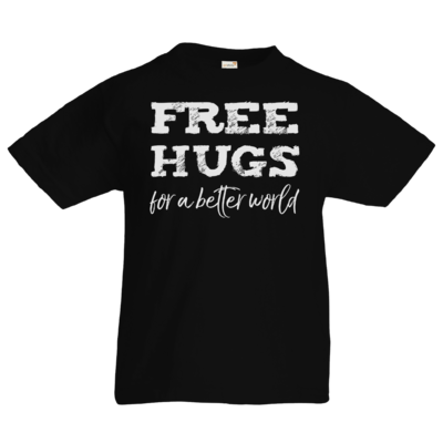Motiv: Kids T-Shirt Premium FAIR WEAR - Free Hugs #01