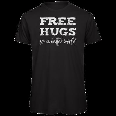 Motiv: Organic T-Shirt - Free Hugs #01