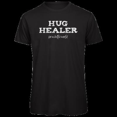 Motiv: Organic T-Shirt - Hug Healer #01