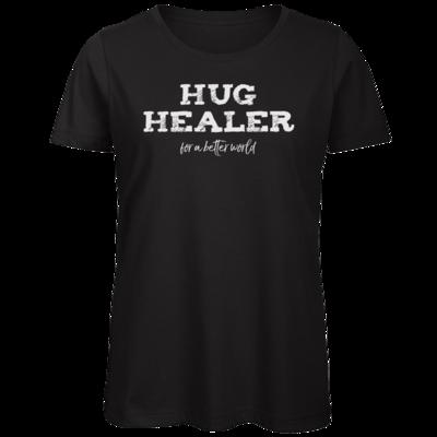 Motiv: Organic Lady T-Shirt - Hug Healer #01