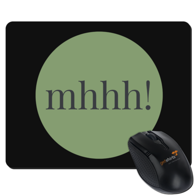 Motiv: Mousepad Textil - Ofen Offen mhhh!