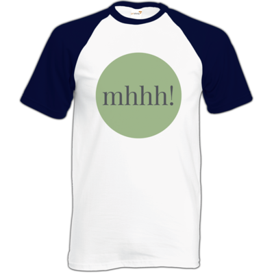 Motiv: Baseball-T FAIR WEAR - Ofen Offen mhhh!