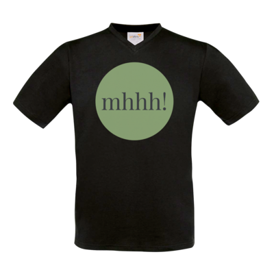 Motiv: T-Shirt V-Neck FAIR WEAR - Ofen Offen mhhh!