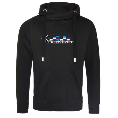 Motiv: Cross Neck Hoodie - FreeK-Events-Logo