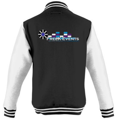 Motiv: College Jacke - FreeK-Events-Logo