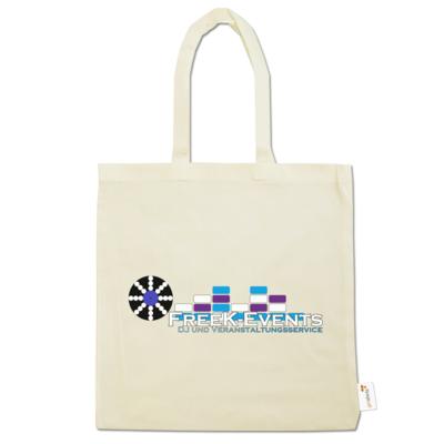 Motiv: Baumwolltasche - FreeK-Events-Logo