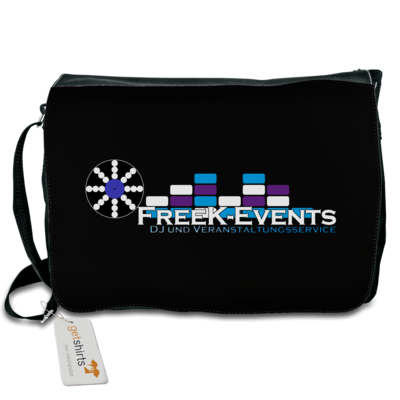 Motiv: Schultertasche - FreeK-Events-Logo