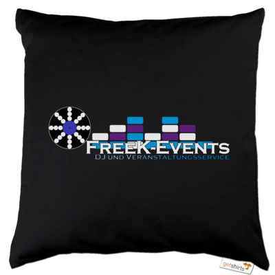 Motiv: Kissen Baumwolle - FreeK-Events-Logo