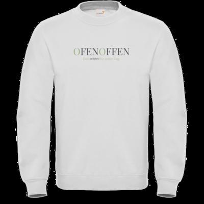 Motiv: Sweatshirt FAIR WEAR - Ofen Offen Dein mhhh! für jeden Tag.