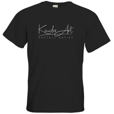 Motiv: T-Shirt Premium FAIR WEAR - Kinader Art Weiß