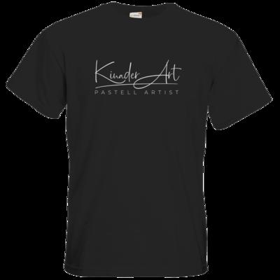 Motiv: T-Shirt Premium FAIR WEAR - Kinader Art Weiß