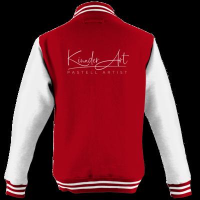 Motiv: College Jacke - Kinader Art Weiß