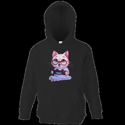 Motiv: Kids Hooded Sweat - Nashi Logo + Schriftzug