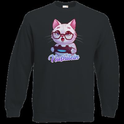 Motiv: Sweatshirt Classic - Nashi Logo + Schriftzug