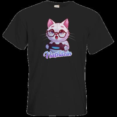 Motiv: T-Shirt Premium FAIR WEAR - Nashi Logo + Schriftzug