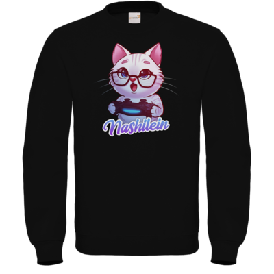 Motiv: Sweatshirt FAIR WEAR - Nashi Logo + Schriftzug