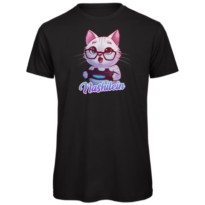 Motiv: Organic T-Shirt - Nashi Logo + Schriftzug