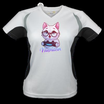 Motiv: Laufshirt Lady Running T - Nashi Logo + Schriftzug