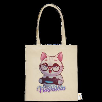 Motiv: Baumwolltasche - Nashi Logo + Schriftzug